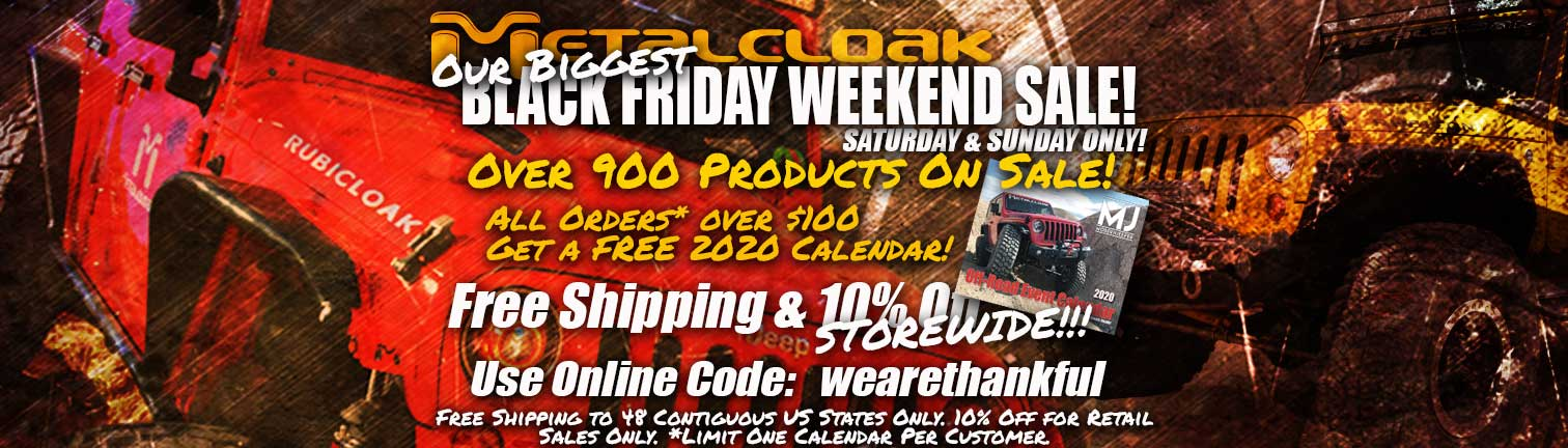 metalcloak black friday sale