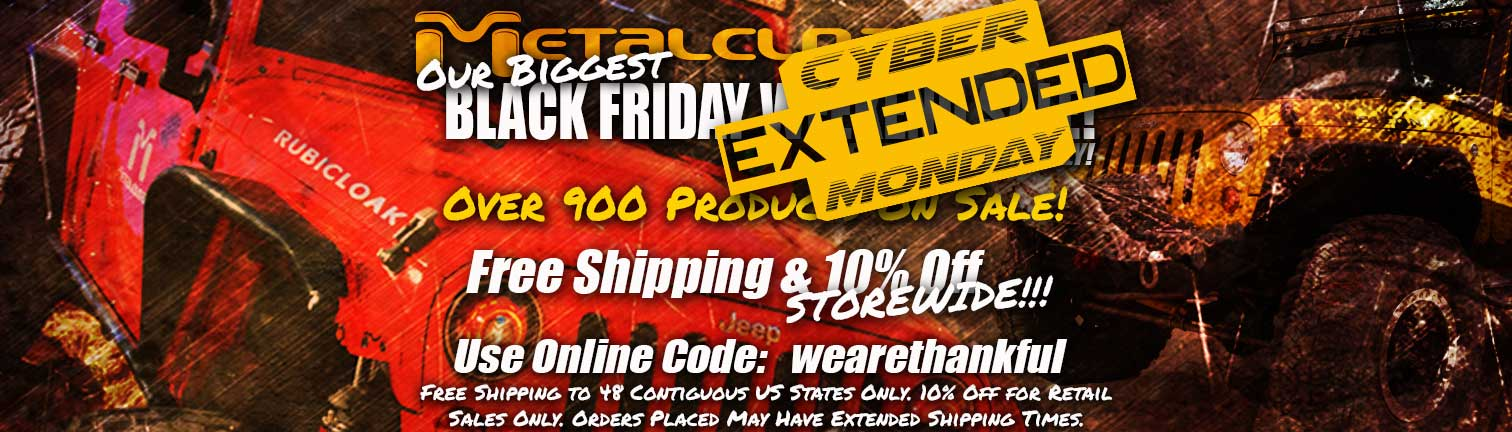 metalcloak cyber monday sale