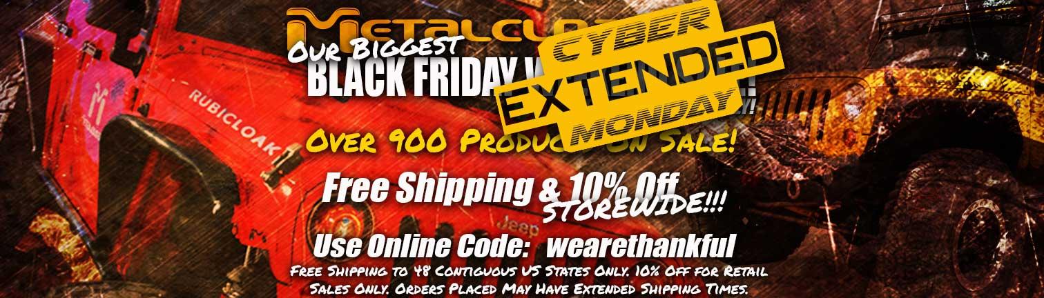 metalcloak cyber monday sale
