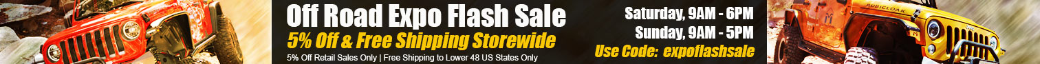 flash sale for Offroad Expo