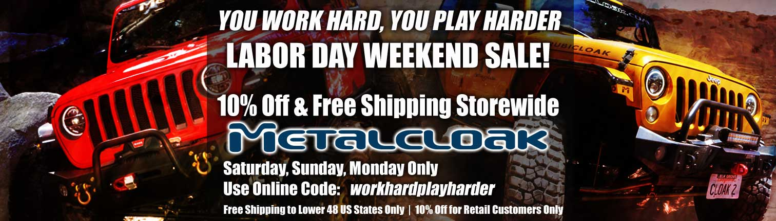 metalcloak labor day sale