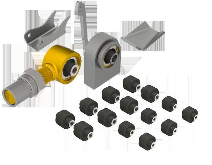 MetalCloak builder parts