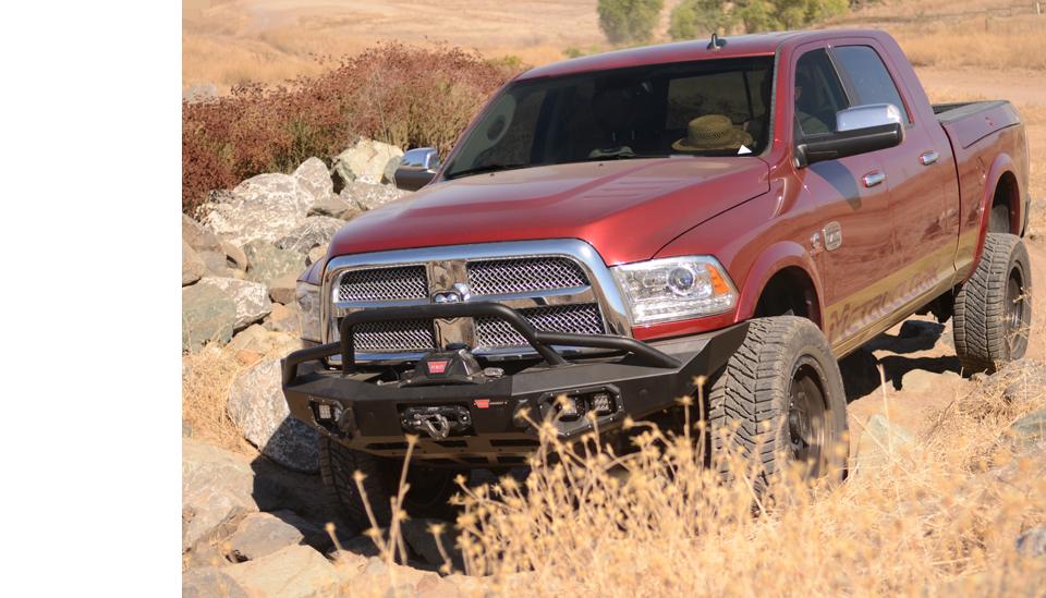 Red Dodge Ram